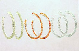 Nancy Dobbs Owen donated hoop earrings ($100 value) for an Idiegogo perk. http://nancydobbsowen.com/jewelry/jewelry_portfolio.html